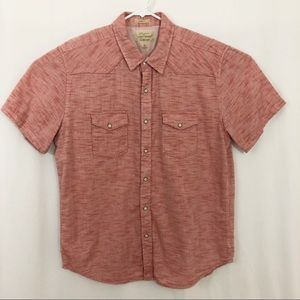 Lucky Brand Western button front